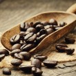 Coffee beans in scoop — Stock Photo #12672611