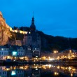 Night view on the Dinant — Stock Photo