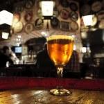 Glass of fresh beer — Stock Photo #12727684