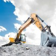 Medium sized excavator — Stock Photo #12727808