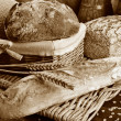 Set of freshly baked bread — Stock Photo