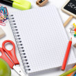 school supplies&quot — Stock Photo #12727994