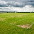 Soccer filed. Football field — Stock Photo