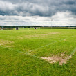 Soccer filed. Football field — ストック写真