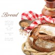 Freshly baked traditional bread — Stock Photo #12728093