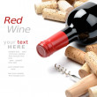 Wine and corks — Stock Photo #12728138