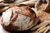 Taze pişmiş geleneksel ekmek — Stok fotoğraf