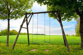 Lone swing seat — Stock Photo