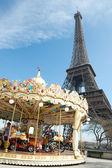 Vintage style carousel — Stock Photo