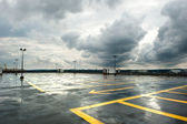 Estacionamento das chuvas — Foto Stock