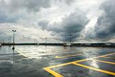 Stationnement des pluies — Photo