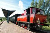 Old steam engine train — Stock Photo