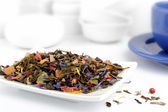 Mix of green and herbal tea — Stock Photo