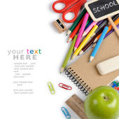 Przybory szkolne — Zdjęcie stockowe