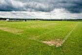 Soccer filed. Football field — Stock Photo