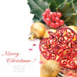 Heart shaped Christmas decoration — Stock Photo #12741702