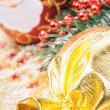 Royalty-Free Stock Photo: Christmas gift and festive decoration