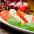 Tomato and mozzarella — Stock Photo #12741955