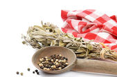 Herbs of French province. Sage — Stock Photo