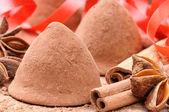 Tartufi al cioccolato — Foto Stock