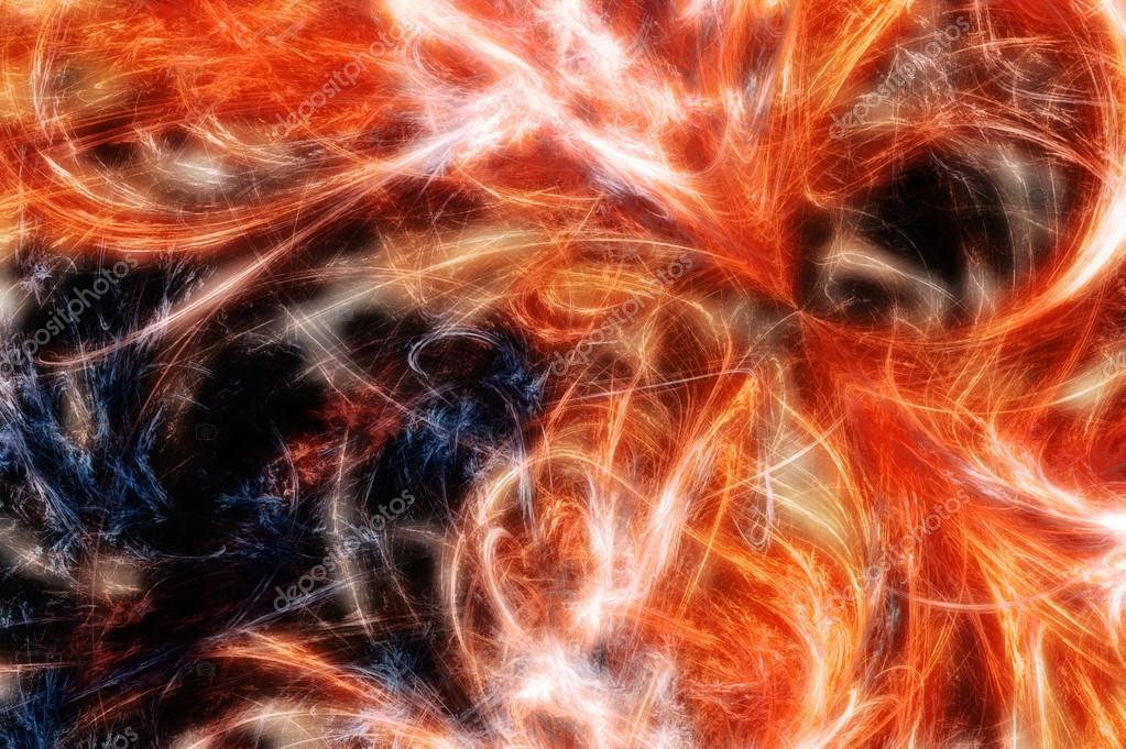 Abstract fractal background. Computer generated graphics. Fire Rage — Stock Photo #13052782