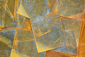 Old rusty metal sheets background — Stock Photo