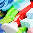Colorful cleaning products — Stock Photo #13336986