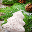 Christmas tree ornament - Stock Photo