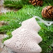 Christmas tree ornament — Stok fotoğraf