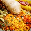 Colorful mix of different spices — Stock Photo