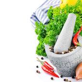 Fresh cooking ingredients — Stock Photo