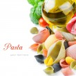 Colorful Italian pasta — Stock Photo