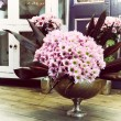 Bouquet of pink gerbera daisies — ストック写真