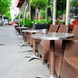 Cafe terrace in Paris — Stock Photo #25963399