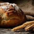 Stock Photo: Freshly baked traditional bread