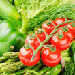 Fresh organic vegetables — Stock Photo #27650251