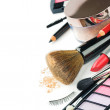 Colorful makeup products — Stock Photo