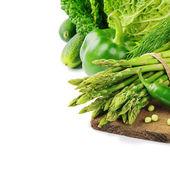 新鮮な緑の野菜 — ストック写真