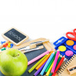 colorful school supplies — Stock Photo #30132277