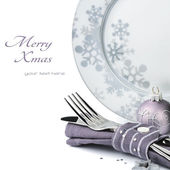 Christmas menu concept — Stock Photo