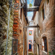 Stock Photo: Old narrow street