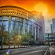European Parliament building. Brussels, Belgium — Stock Photo