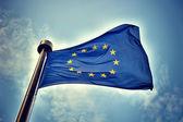 European Union flag — Stock Photo