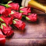Valentine's setting — Stock Photo