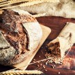 Fresh traditional bread — Stock Photo #39227913