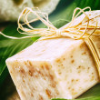 Natural handmade soap bar — Stock Photo #45807439