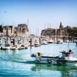 Постер, плакат: Port of Dieppe in Normandy
