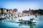 Port of Dieppe in Normandy — Stock Photo