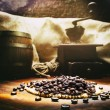Roasted coffee beans — Stock Photo #48231545