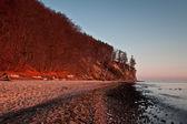 Autumn by the Sea, autumn landscape — Stock Photo